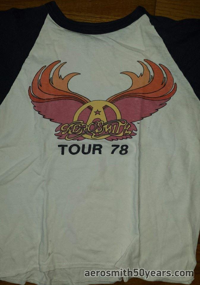 cd44f4511 Live! Bootleg Tour Shirt - Aerosmith