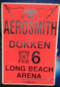 Long Beach Arena Long Beach California February 6 1988