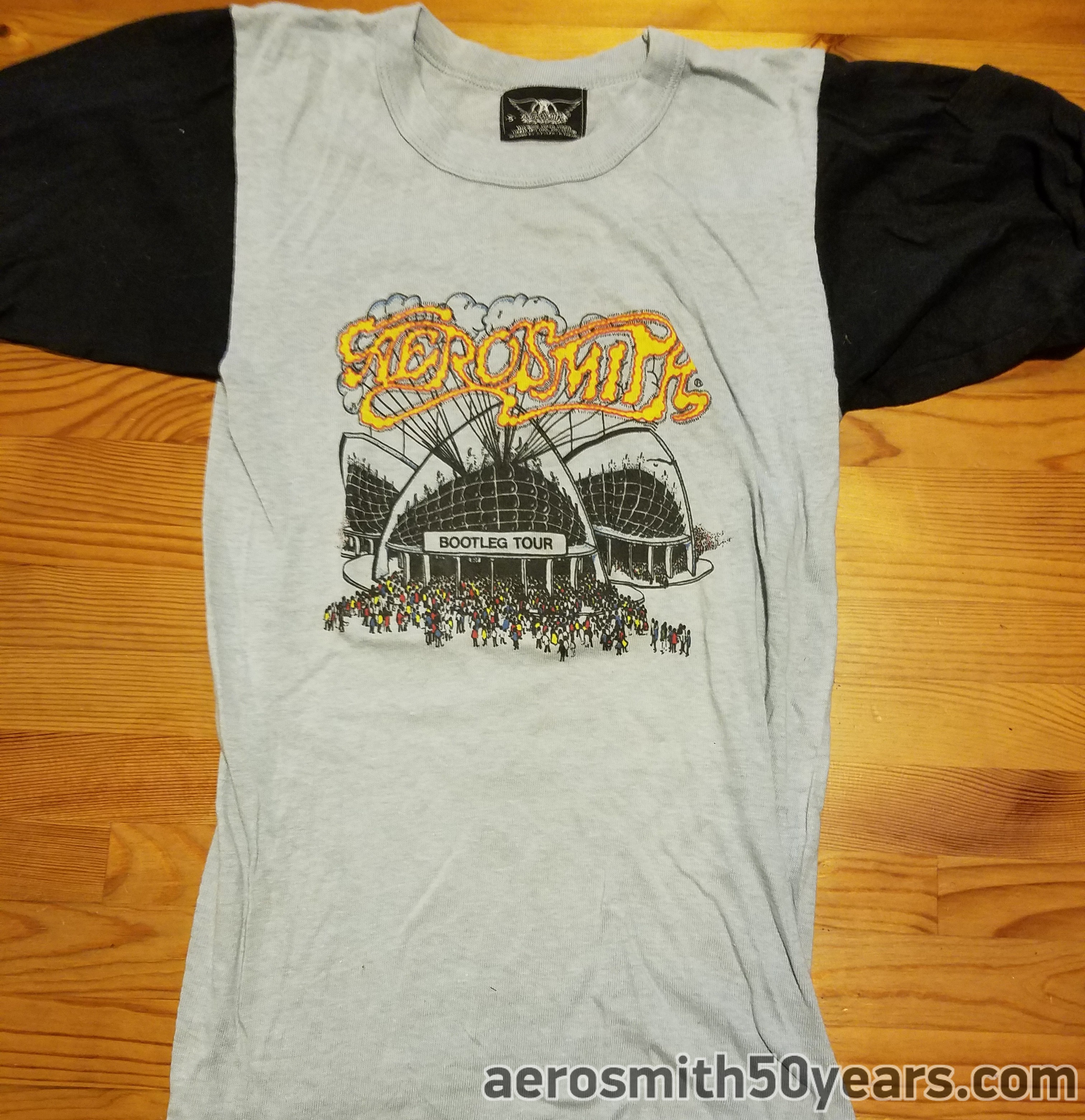81c559e13 Bootleg Tour Shirt. Another Shirt With The Label Showing Design By Steven  Tallarico & Raymond Tabano. This Design Had A Special Pocket In The Sleeve.