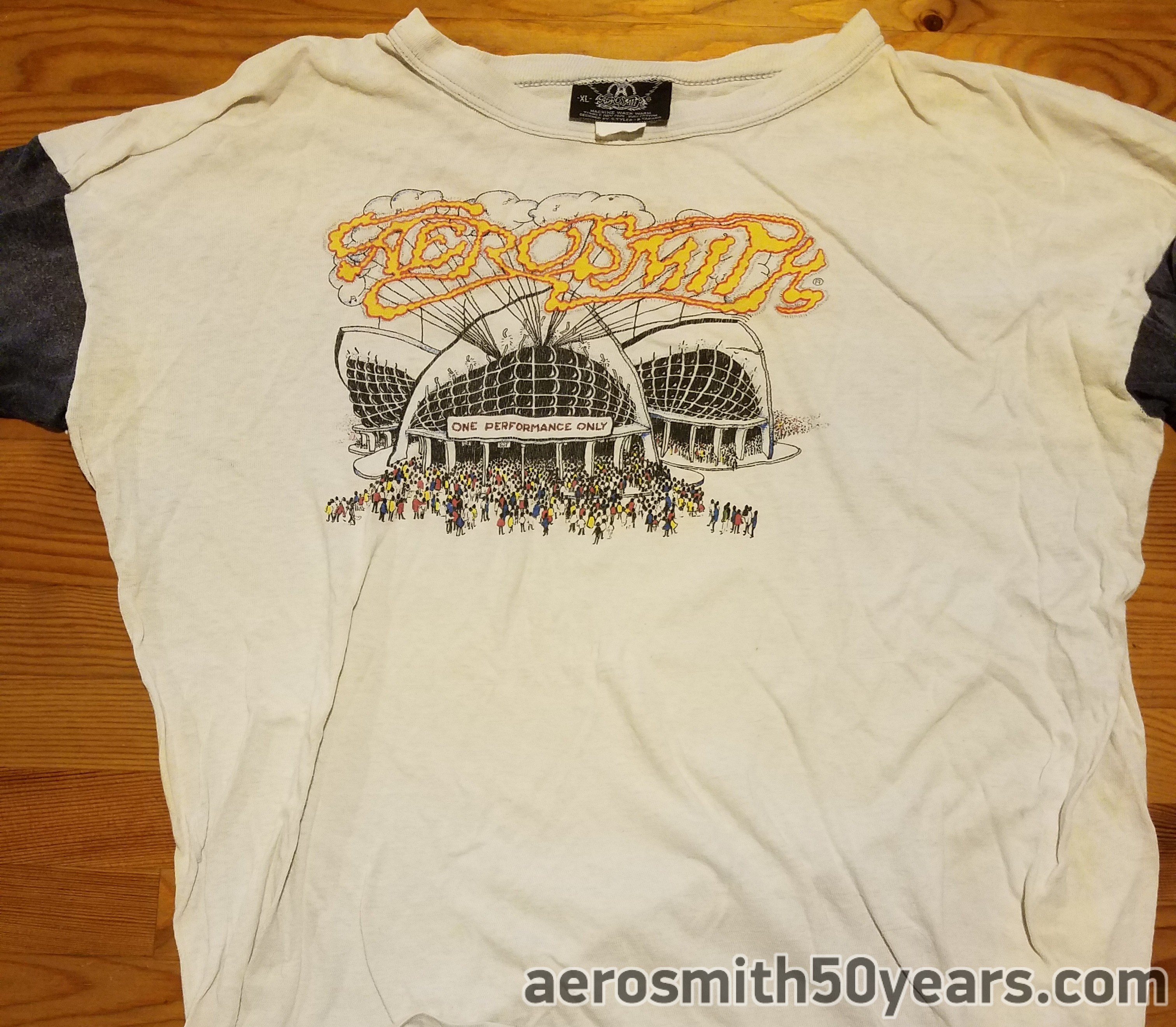 d05c87153 Bootleg Tour Shirt- Special One Performance Only. Designed By Ray Tabano & Steven  Tyler