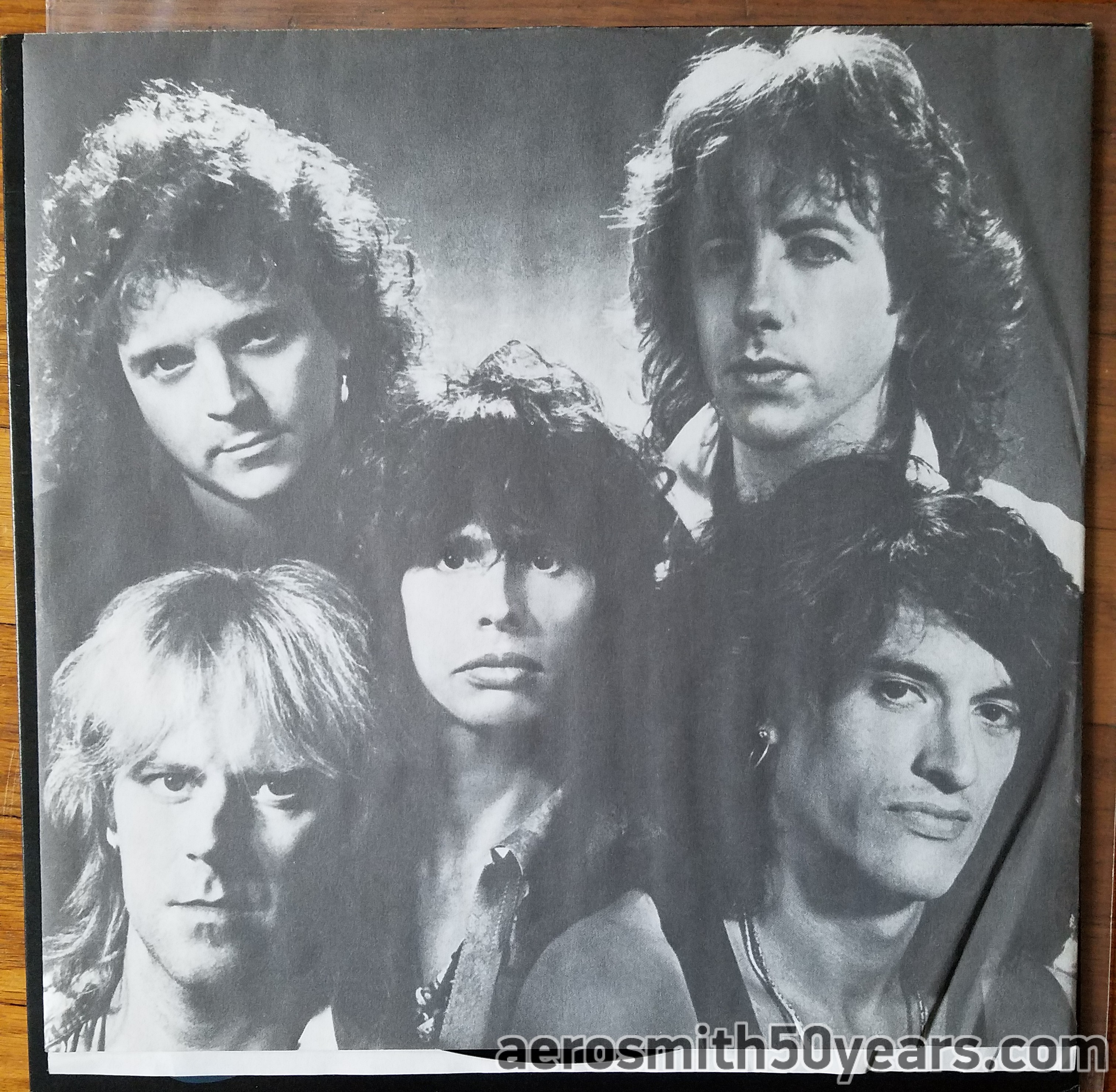 Done With Mirrors 1985 With Inner Sleeve Aerosmith
