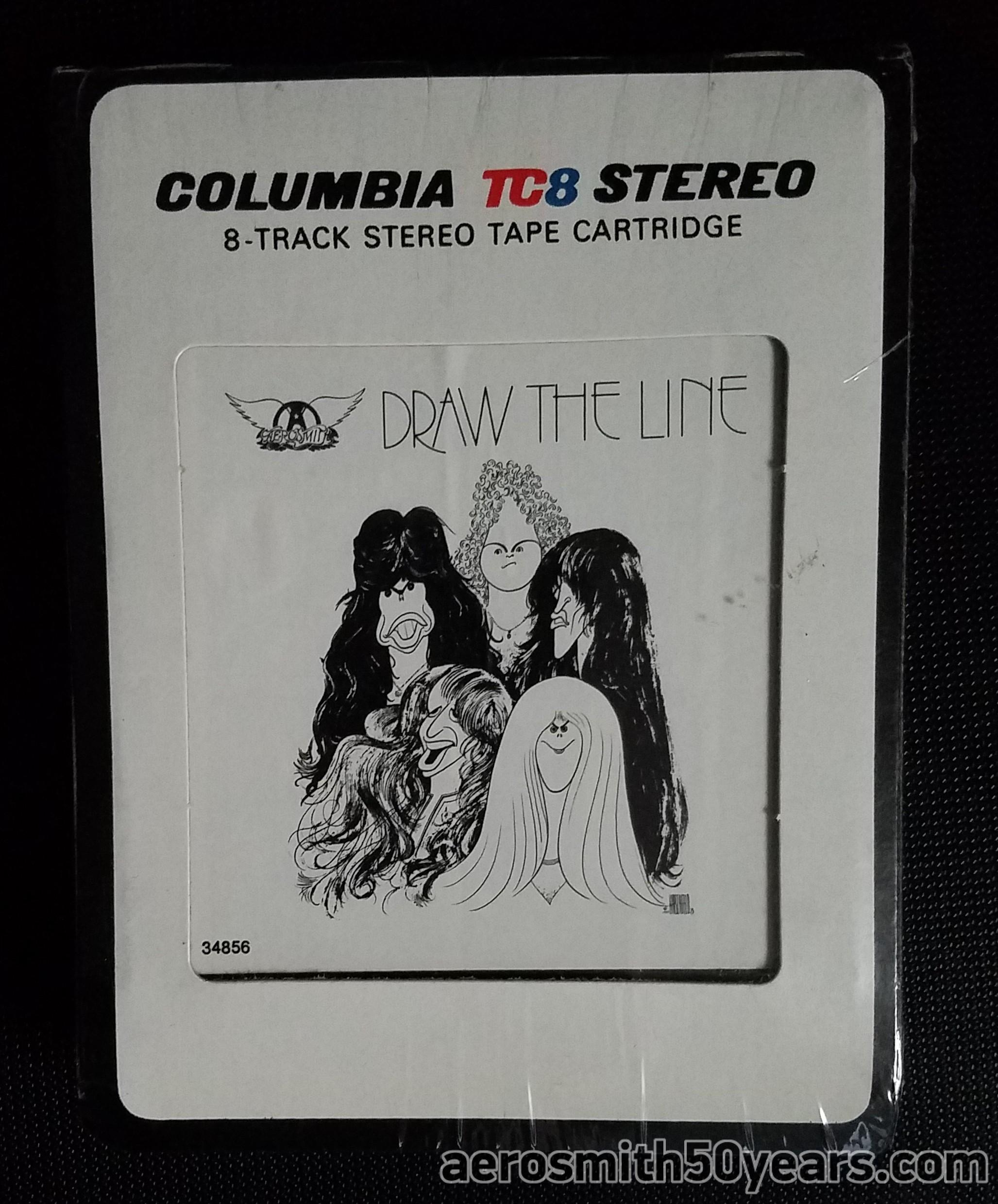 Draw The Line 8 Track Tape Aerosmith