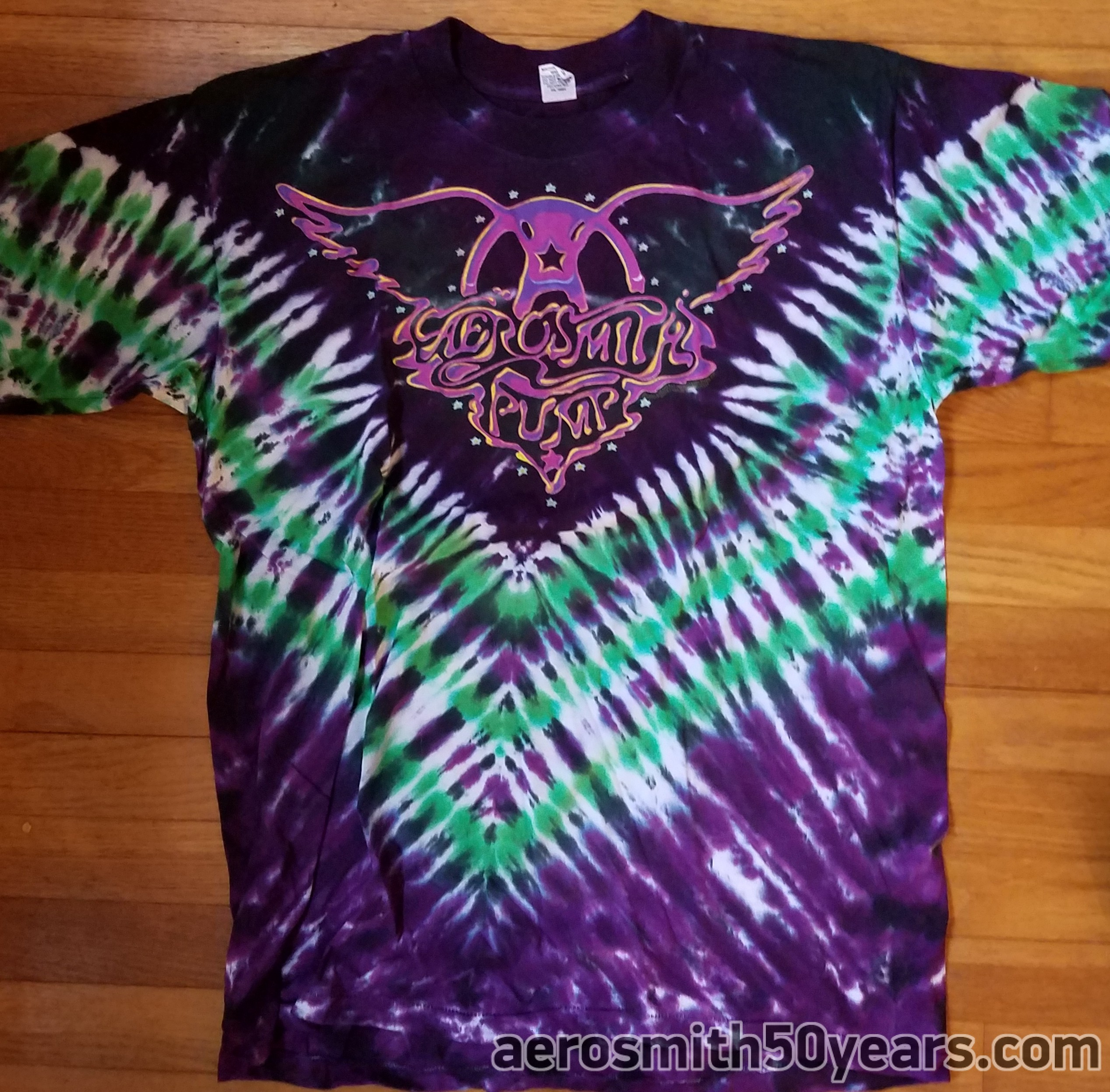 Pump 89 90 Monkey On My Back Tie Dye Concert Shirt