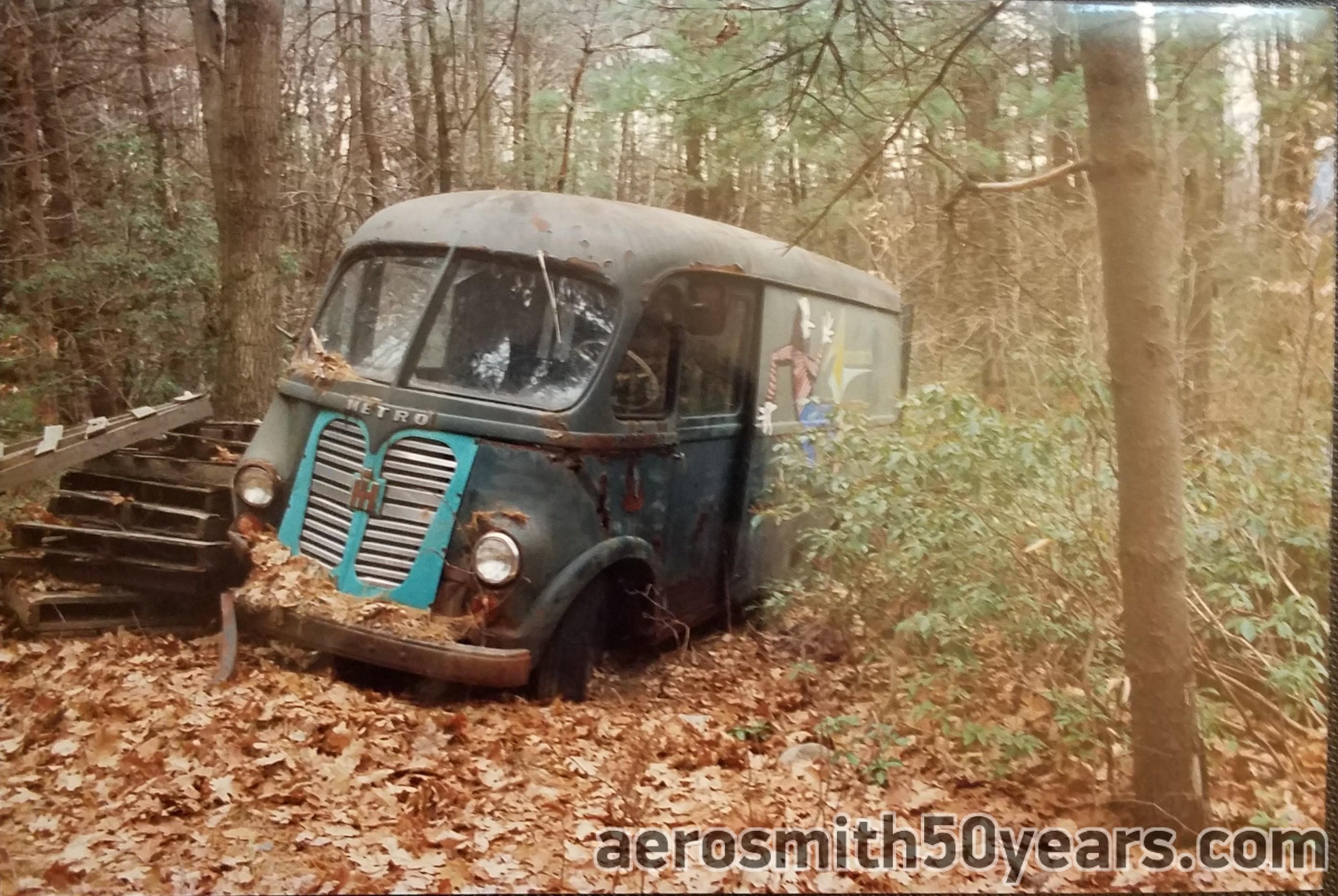 Original Touring Van Aerosmith