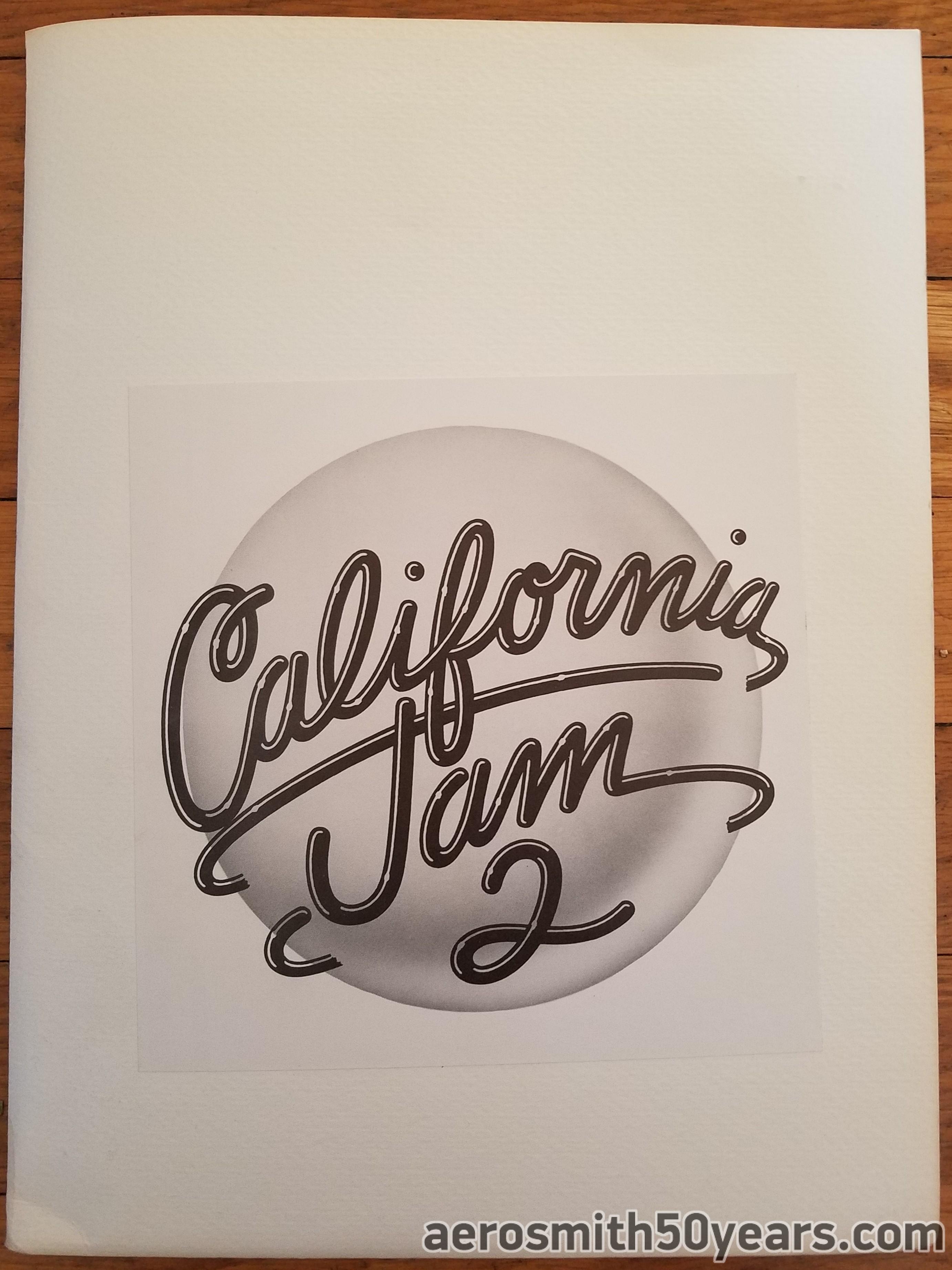 California Jam 2-  March 18th, 1978 Press Kit