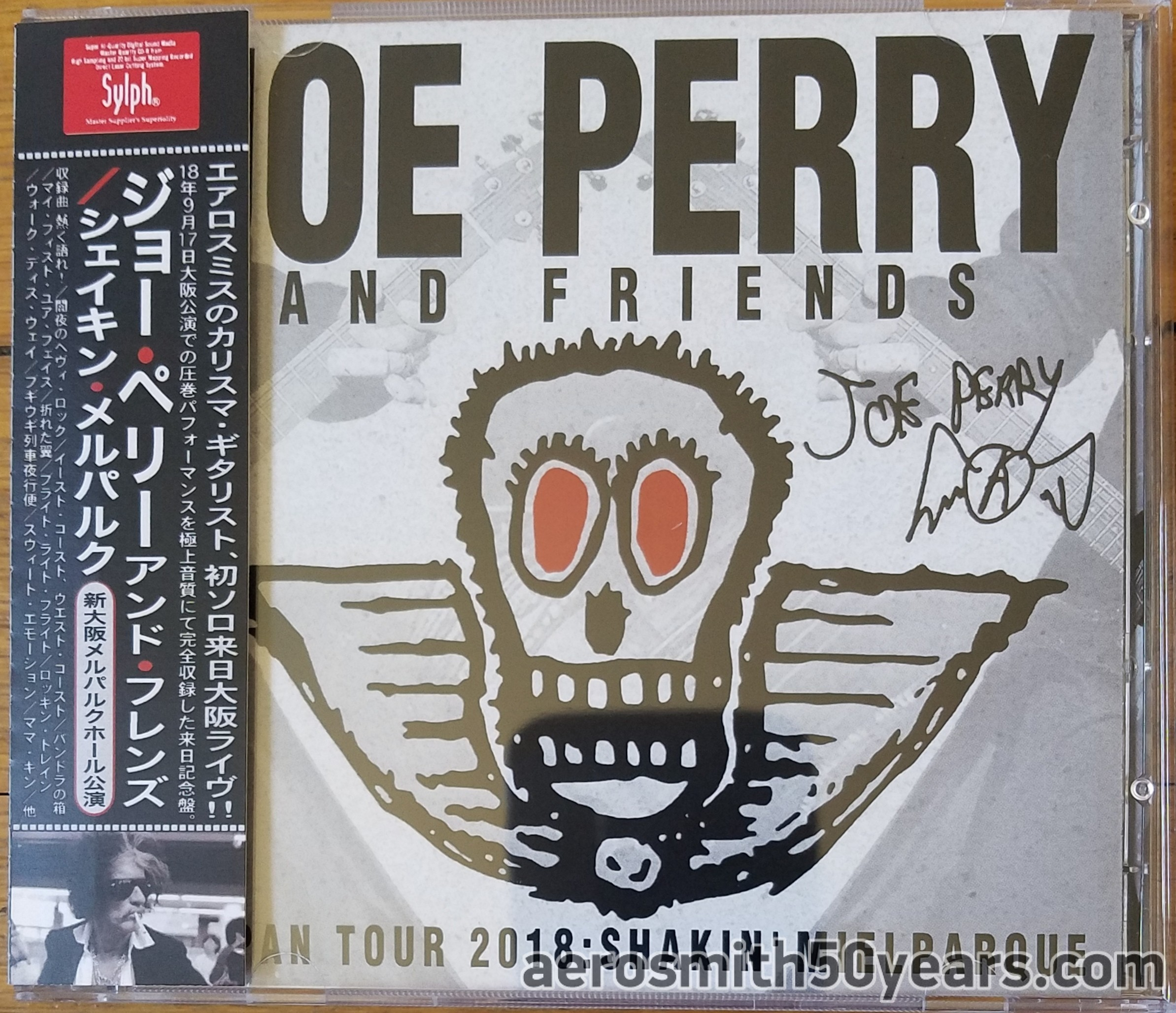 Joe Perry And Friends- September 17th, 2018 Osaka, Japan (Unofficial) 2 CD