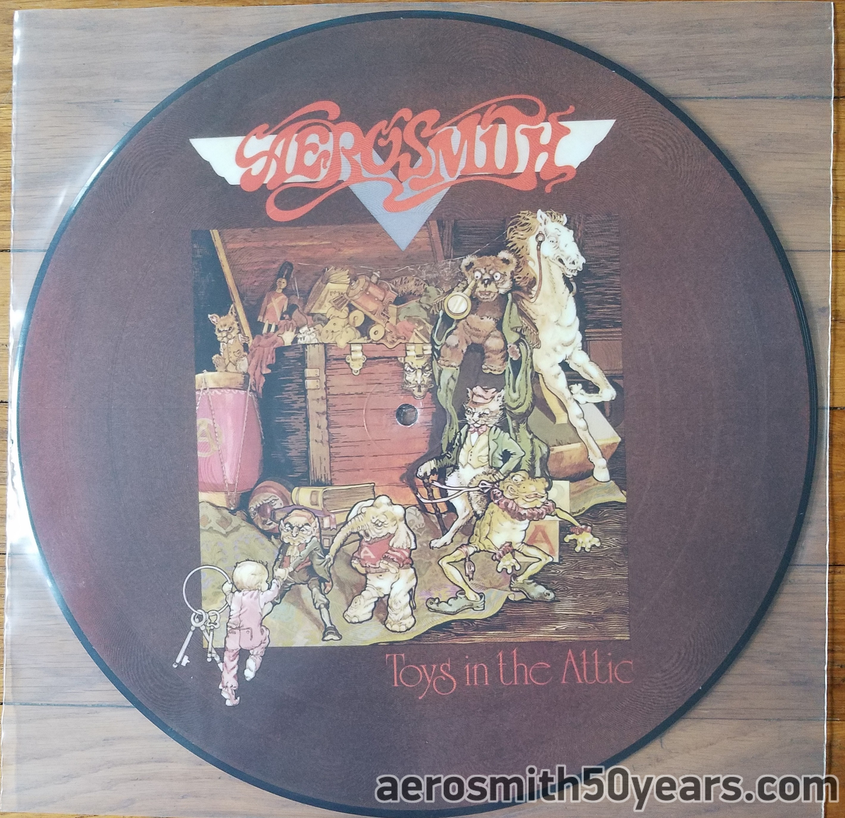 Toys In The Attic- 2008 Japan Picture Disc (Unofficial). I've Also Heard These Were Possibly Made In UK.