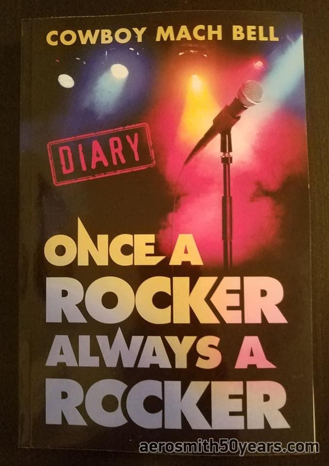 Once A Rocker Always A Rocker Diary- By Cowboy Mach Bell 2019 Paperback