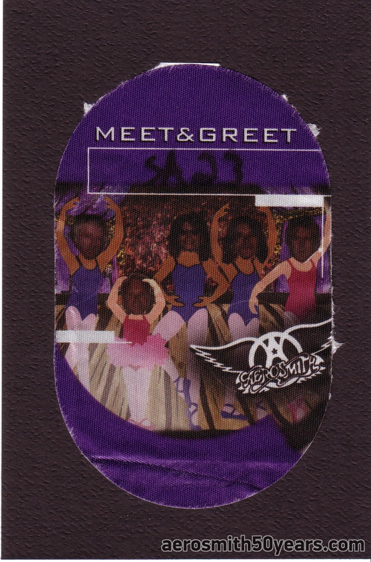 Just Push Play Tour- Bonner Springs, KS. Meet & Greet Satin Pass