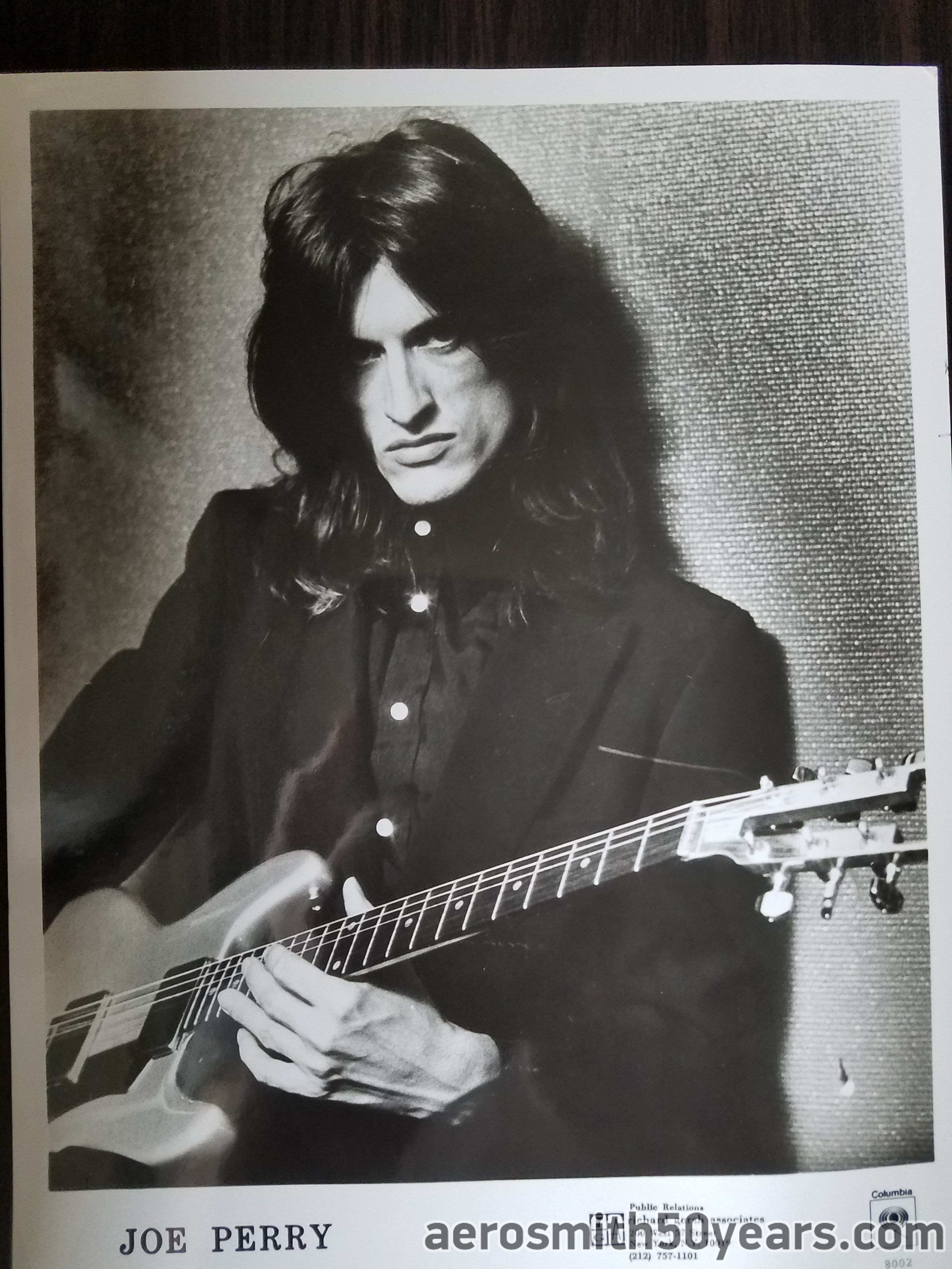 Joe Perry Project- Press Kit/Release  October 5th, 1981. This Was Sent To Brass Ring Productions For A Show Being Held In Detroit.