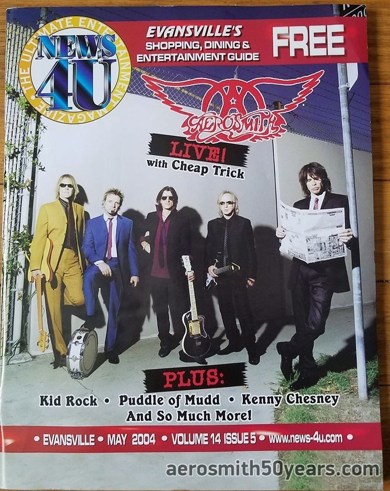 Evansville's – May 2004 Local Entertainment Guide Magazine.