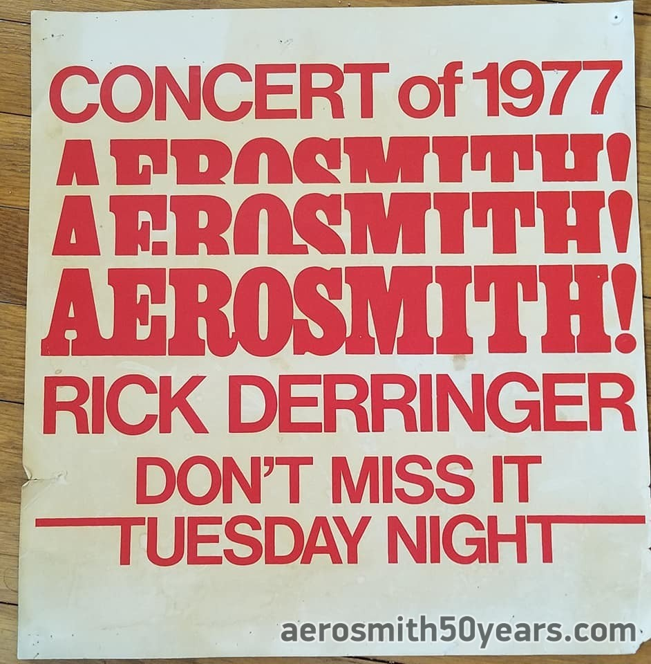 Ottawa, Canada – December 13th, 1977 Ticket Office Poster