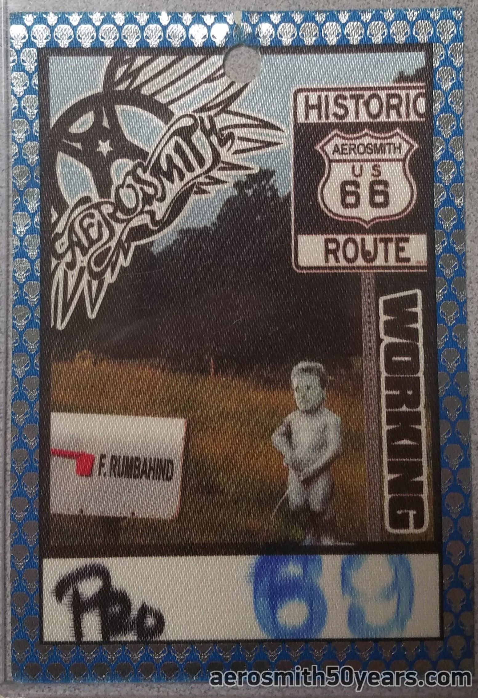 Route Of All Evil- 2006 Working Cloth Pass