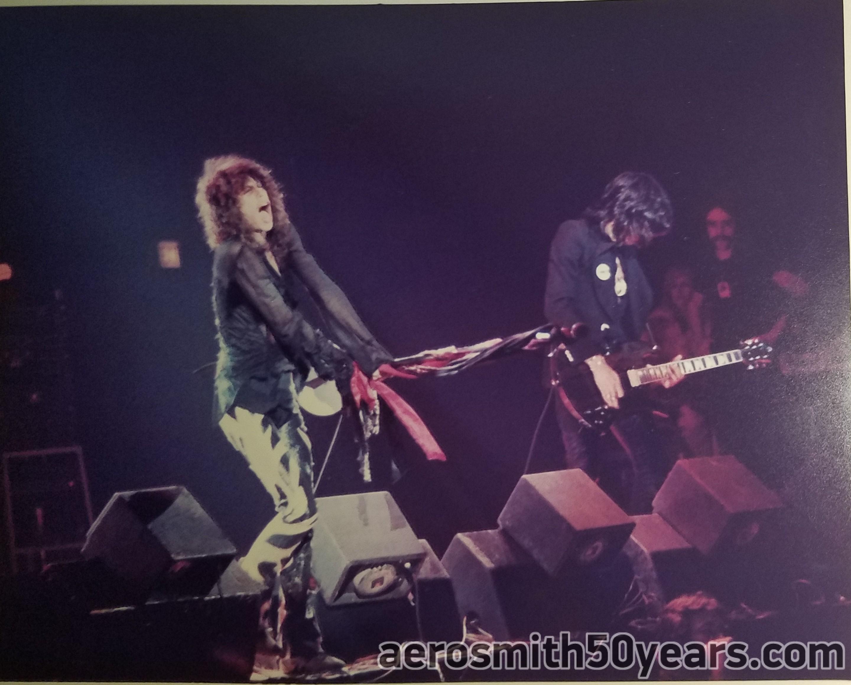 """Steven Tyler & Joe Perry – Live August 1977 """"Express Tour"""""""