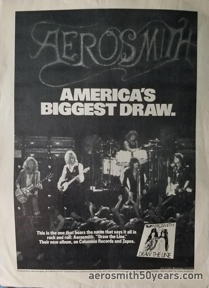 """Draw The Line"" America's Biggest Draw. AD"