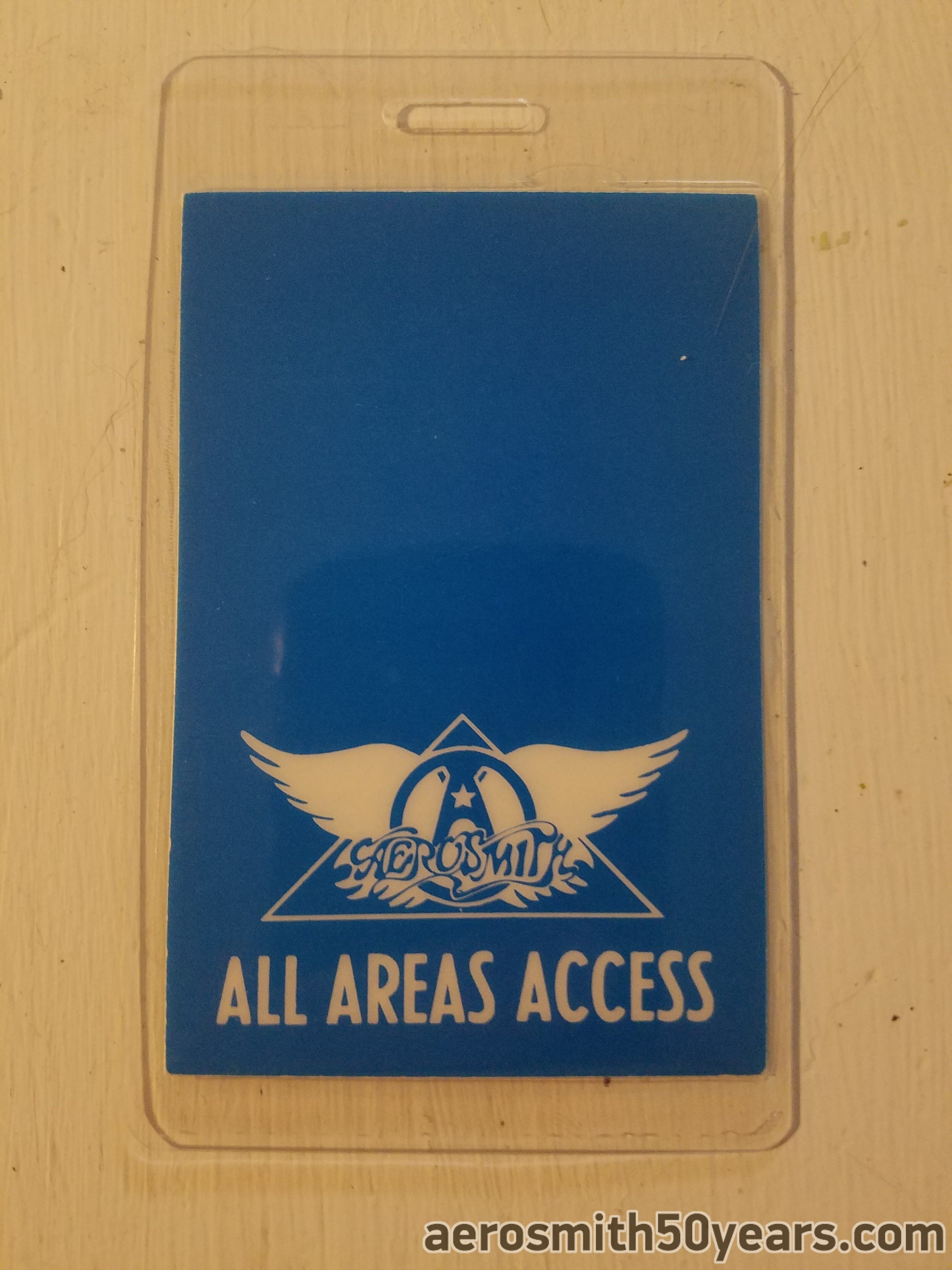 Rock In A Hard Place 1983 Tour Laminate
